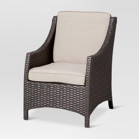Belvedere Wicker Patio Kids Chair Threshold™ Tar