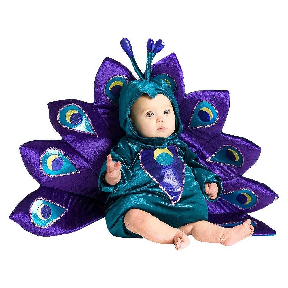 Infant/Toddler Baby Peacock Costume - 9-12 M