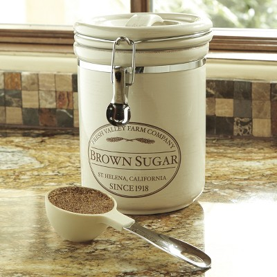CHEFS Fresh Valley Airtight Canister - Brown Sugar