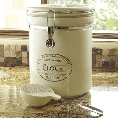 CHEFS Fresh Valley Airtight Canister - Flour