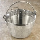 CHEFS 6 qt. Maslin Pan with Lid