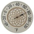 Threshold Decorative Round Thermometer