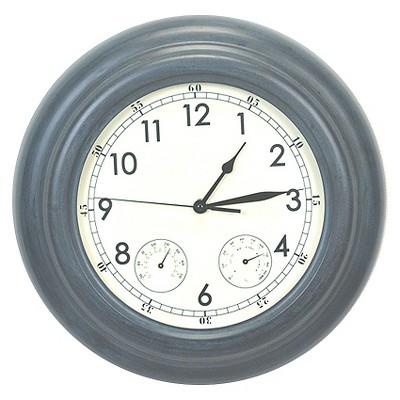 Medium Outdoor Zinc Clock - Threshold™