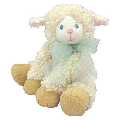 "First & Main Lela Lamb Plush Toy - Cream (7.5"")"
