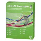 "18' LED Rope Light 13mm Set - Green (2""Bulb Spacing)"