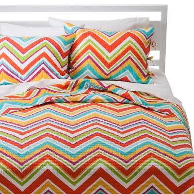 Dream Big Quilt Set - Multicolored (Full/Queen)