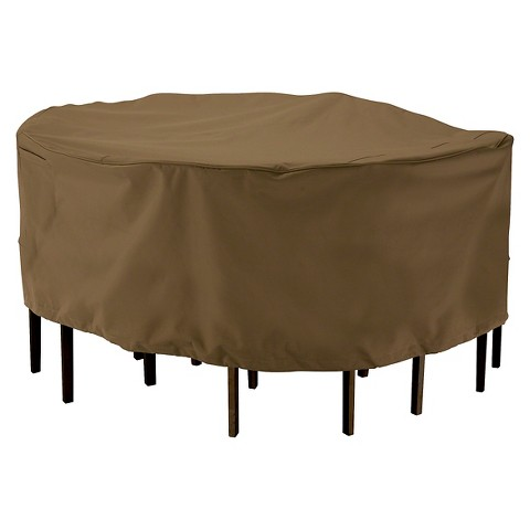 Patio Table And Chair Cover Thrshd Pvc Backed Po Target