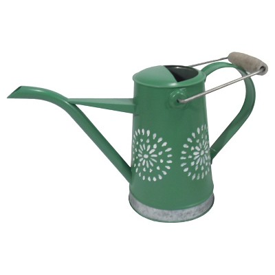 Threshold Small Watering Can Green Pattern