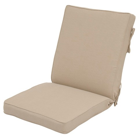 Smith Hawken Outdoor Chair Cushion Beige