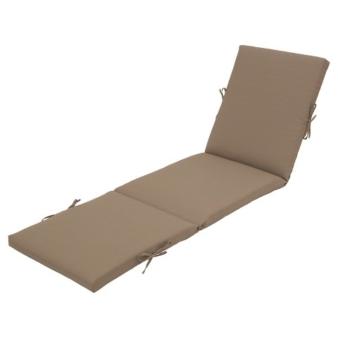 Outdoor chaise lounge cushion solid color thre target for Chaise cushion clearance
