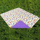 Outdoor Picnic Blanket Birds - Multicolored