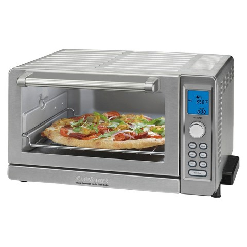 Countertop Convection Oven Cuisinart Toaster Oven : Cuisinart Deluxe Convection Toaster Oven/Broiler TOB-135 product ...