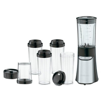 Cuisinart SmartPower 15-Pc Compact Portable Blender/Chopping System CPB-300