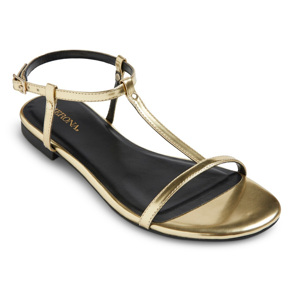 7fc25ab45775 Merona Women s Alma Sandals - Gold 8