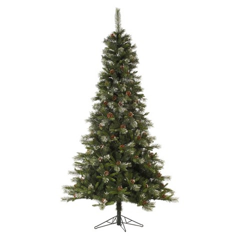 Spruce Iced Unlit Artificial Christmas Tree product details page ZNk6h72D