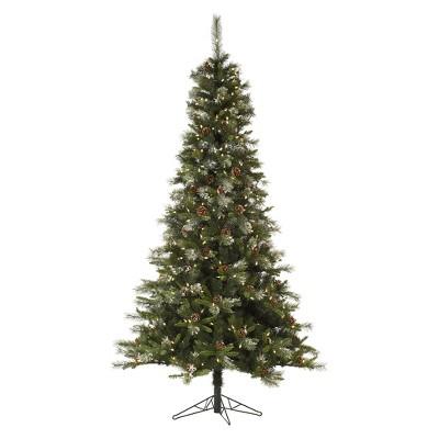 9 foot pre lit christmas tree target fake