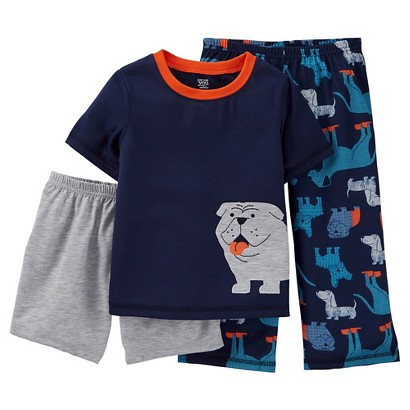 Just One You Made by Carter's Toddler Boys' Puppies 3-Piece Pajama