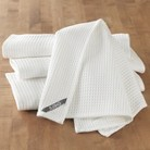 CHEFS Waffle Towels - Set of 4 - White