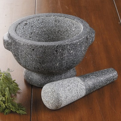 Ecom Pestle And Mortar Set Chefs