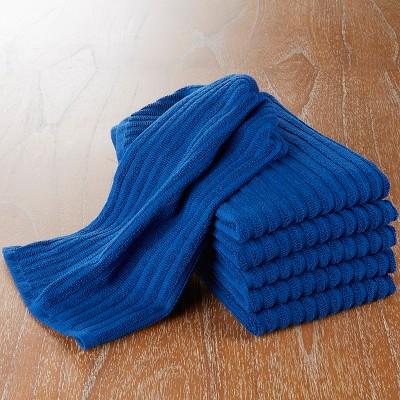 CHEFS Bar Mop Towels - Set of 6 - Blue