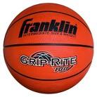 "Franklin Sports Intermediate Size 28.5"" Grip-Rite 100 Rubber Basketball"