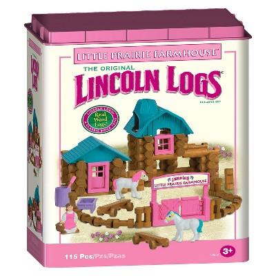 Lincoln Logs® Little Prairie Farmhouse™ Building Set