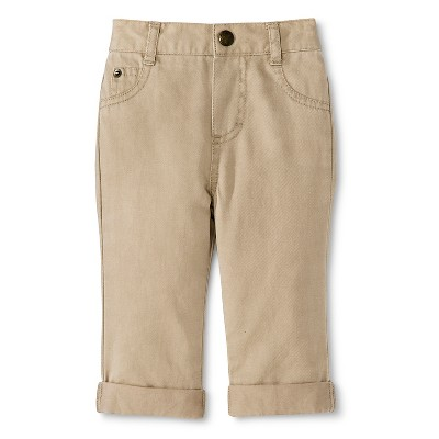 Cherokee® Newborn Boys Chino Pants - Vintage Khaki 6-9 M