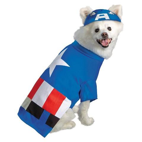 Buyseasons Captain America Pet Costume