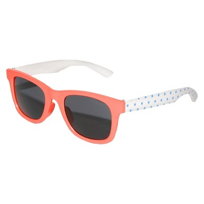 Toddler Girls' Wayfared Polka Dot Sunglasses - Coral