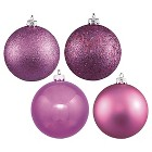 "2.4"" Assorted Ornament Ball- Orchid (24 Per Box)"