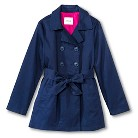 Girls' Belted Trench Coat