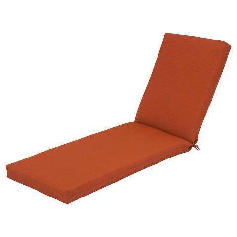 Heatherstone chaise cushion orange threshold target for Chaise orange