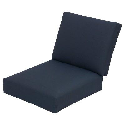 Heatherstone Club Chair Cushion Set - Navy - Threshold™