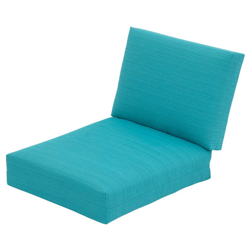 Heatherstone Patio Furniture ECOM OUTDOOR CUSHION SET THRSHD POLYESTER TRQ