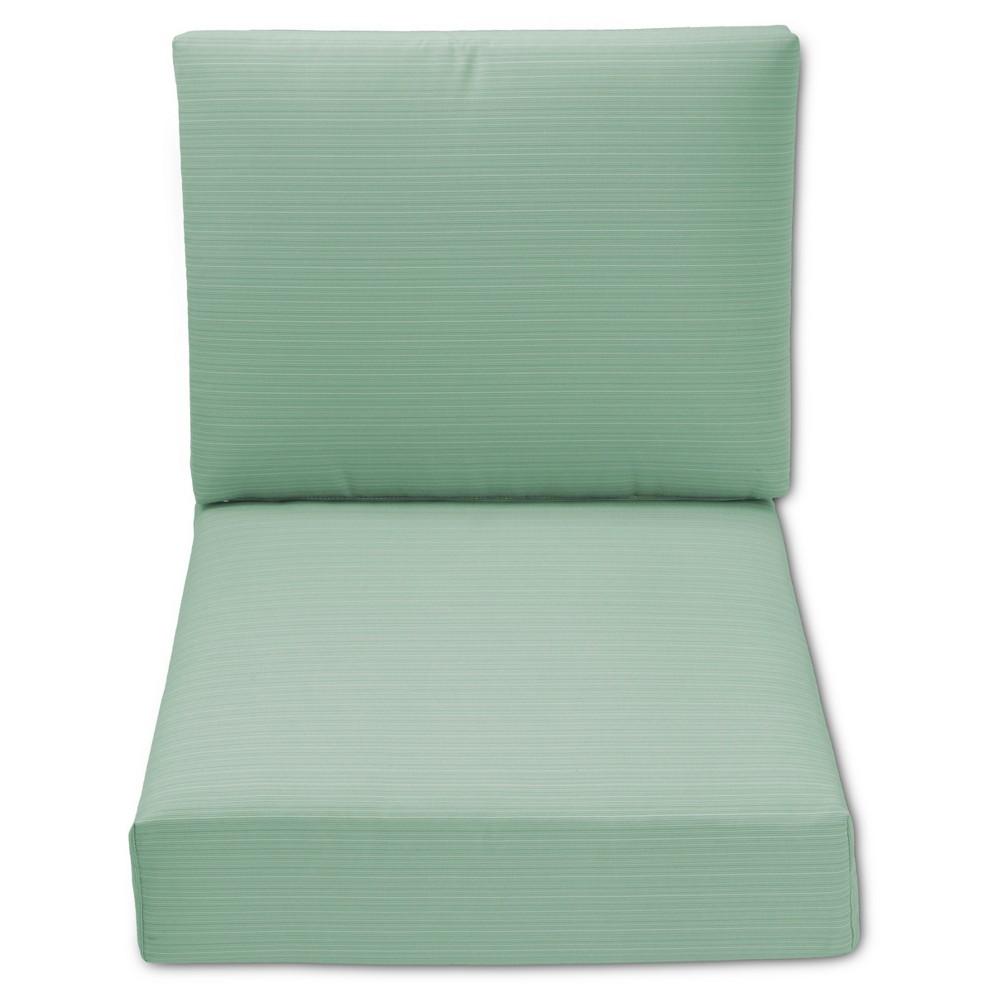 Heatherstone Patio Furniture OUTDOOR CUSHION SET: HEATHERSTONE 2PC CUSHION SET: