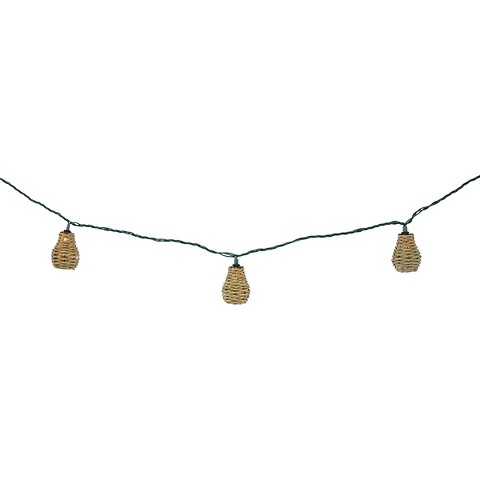 String Patio Lights At Target : UL 10ct Indoor/Outdoor String Light-Sea Grass Co... : Target