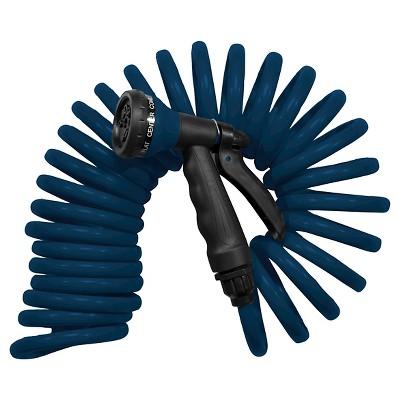 25ft Coil Hose - Blue - Room Essentials™