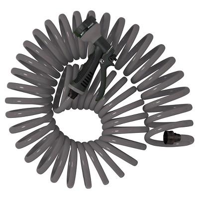 50ft Coil Hose - Gray - Room Essentials™