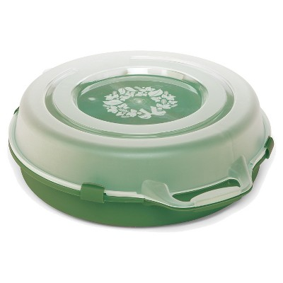 "24"" Holiday Wreath Storage Box - Green"