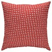 "Room Essentials™ 15"" Pillow Coral Red Dash"