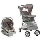 Cosco Lift & Stroll  Travel System - Ikat Dots