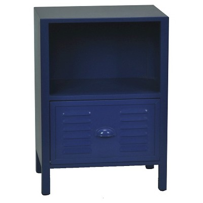 Locker Front Kids Accent Table - Blue - Circo™