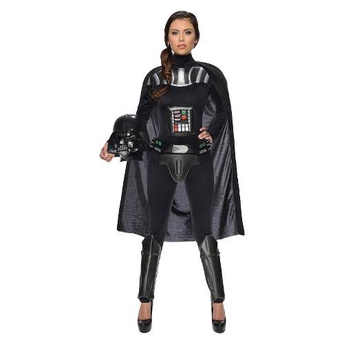 Women's Star Wars Darth Vader Female Adult Bodysuit costume