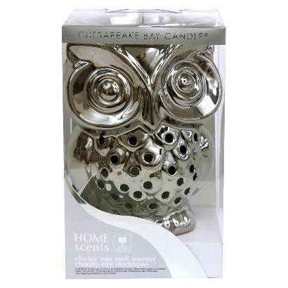 Home Scents Electric Wax Melt Warmer Silver Ow Target