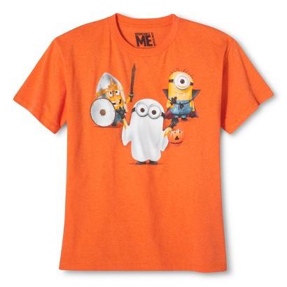 Image of Despicable Me Boys' Halloween Tee - Carrot Orange XL