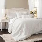 Lush Decor© Rosina Comforter Set - White (King