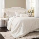 Lush Decor© Rosina Comforter Set - Ivory (King)