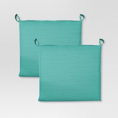 Harper Stationary Dining Chair Cushion - Turquoise  - Threshold™