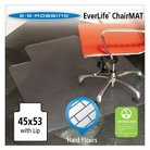 ES Robbins® Multi-Task Series Lip Chair Mat for Hard Floors - 3'9''x4'5''