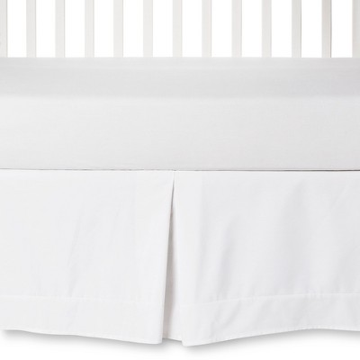 Circo™ Pleated Crib Skirt White